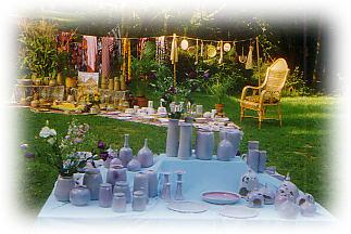 Hausausstellung Keramik Bettina Feld