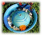 Zimmerbrunnen Keramik Bettina Feld
